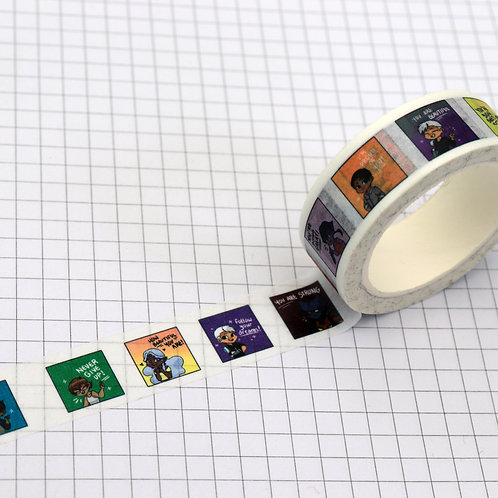 positive vld - masking tape