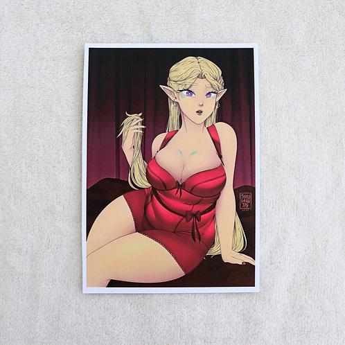 Romelle lingerie - A5 print