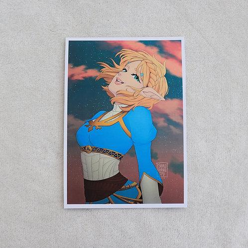 Zelda BOTW - A5 print