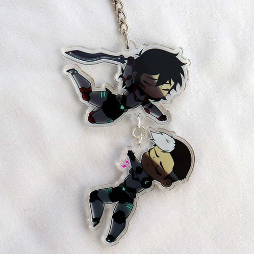 VLD sheith acrylic keyring - s6e5 inspired