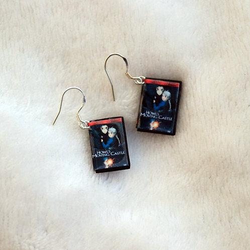 ghibli DVD earrings