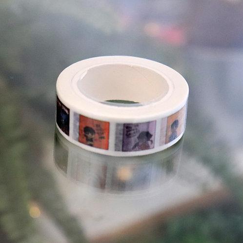 positive vld - washi tape
