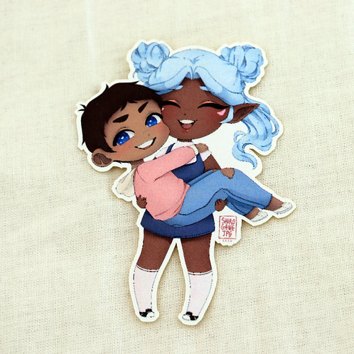 "Allurance - 2"" sticker"