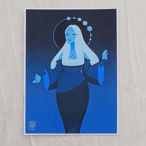 Steven Universe - Blue Diamond - A5 print