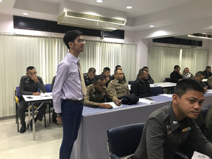Providing Communicative English Lessons to officers of the Metropolitan Police Division 7.