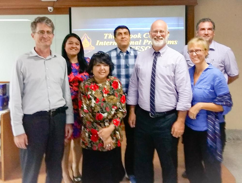 Thongsook BA TESOL Academic Board and Advisors