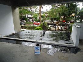 Impermeabilização com manta líquida