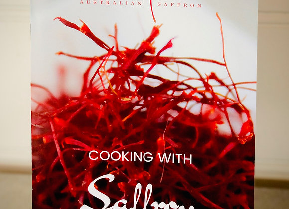 Cooking with Saffron Recipe Booklet (hard copy)