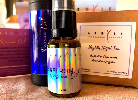 Saffron Calming Care Pack