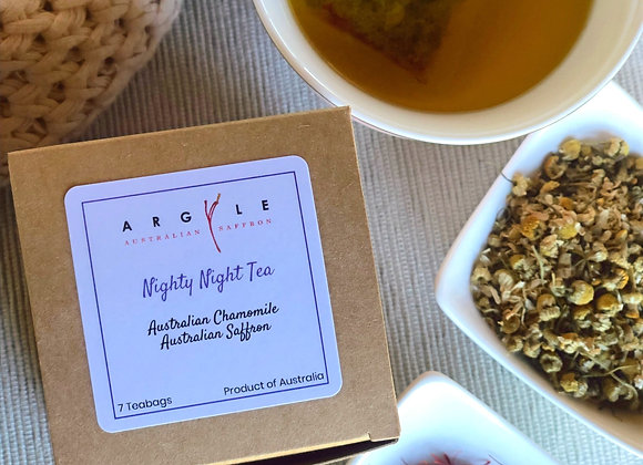 SAFFRON & TEA COMBO: Half Gram of saffron + Nighty Night saffron & chamomile tea