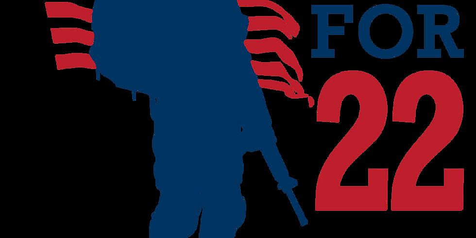 "2021 ""5 for 22"" Veteran's Day 22 Mile Ruck"
