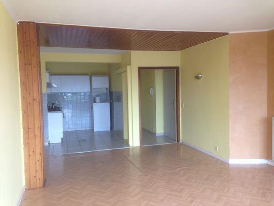 Rénovation appartement | Séjour AVANT/après
