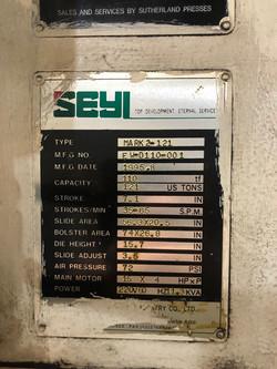 121 ton Seyi Sutherland data