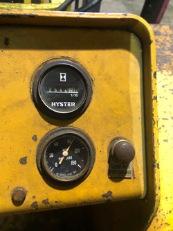 Hyster H250 hours