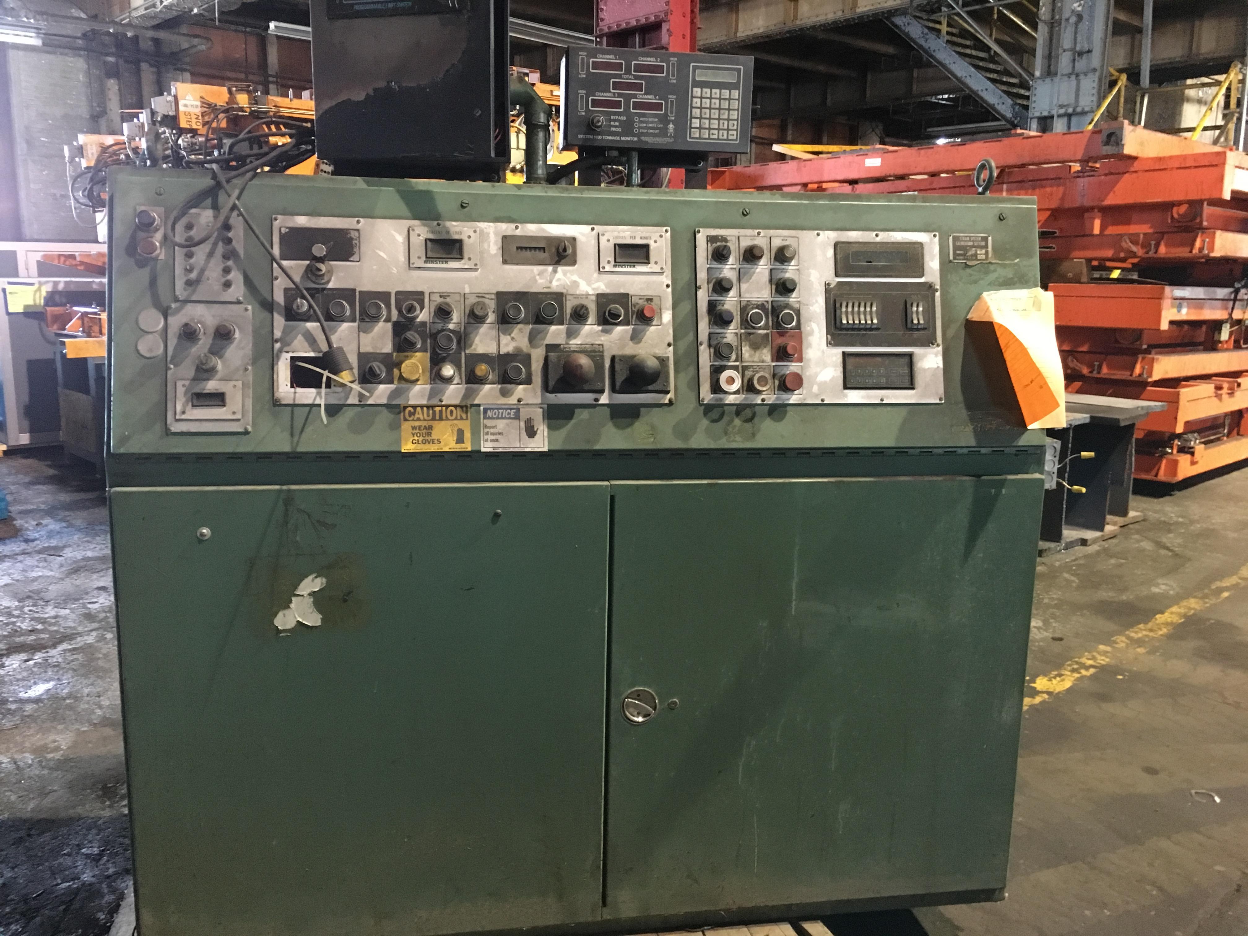 150 ton minster p2 controls