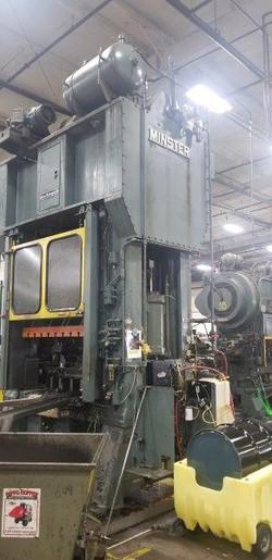 150 ton Minster E2