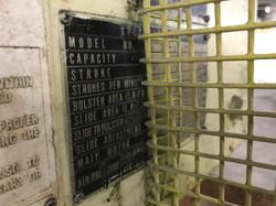 Aida 60 ton press 5