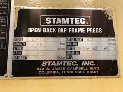 160 ton Stamtec2