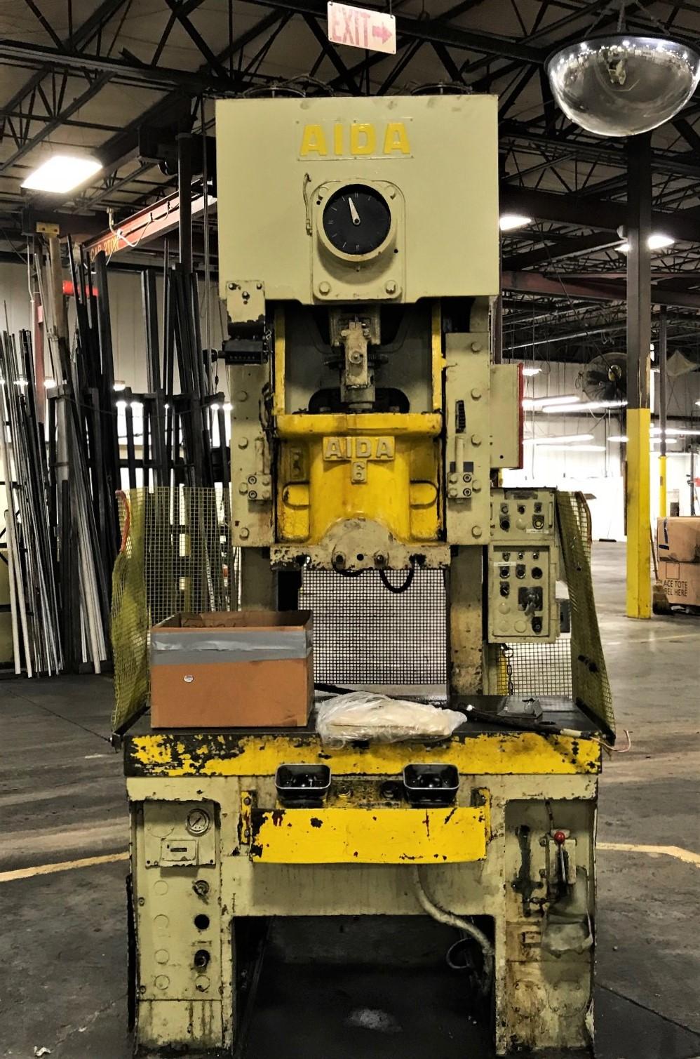 Aida 60 ton press 1