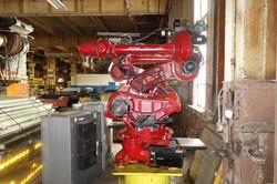 press robot