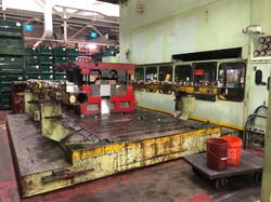 1500 ton Komatsu bolster