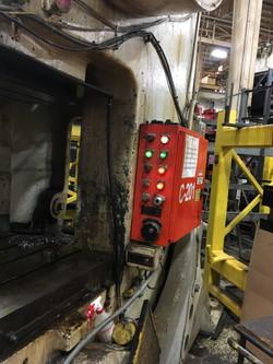 200 ton Bliss controls 2