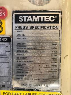 200 ton Stamtec2