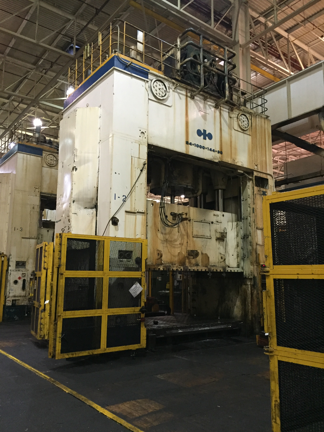 Komatsu 1000 ton press for sale