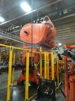 200 ton clearing flywheel