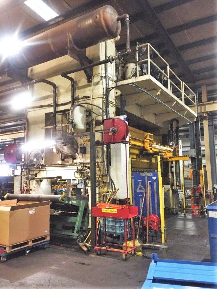 1200 ton Blow press side