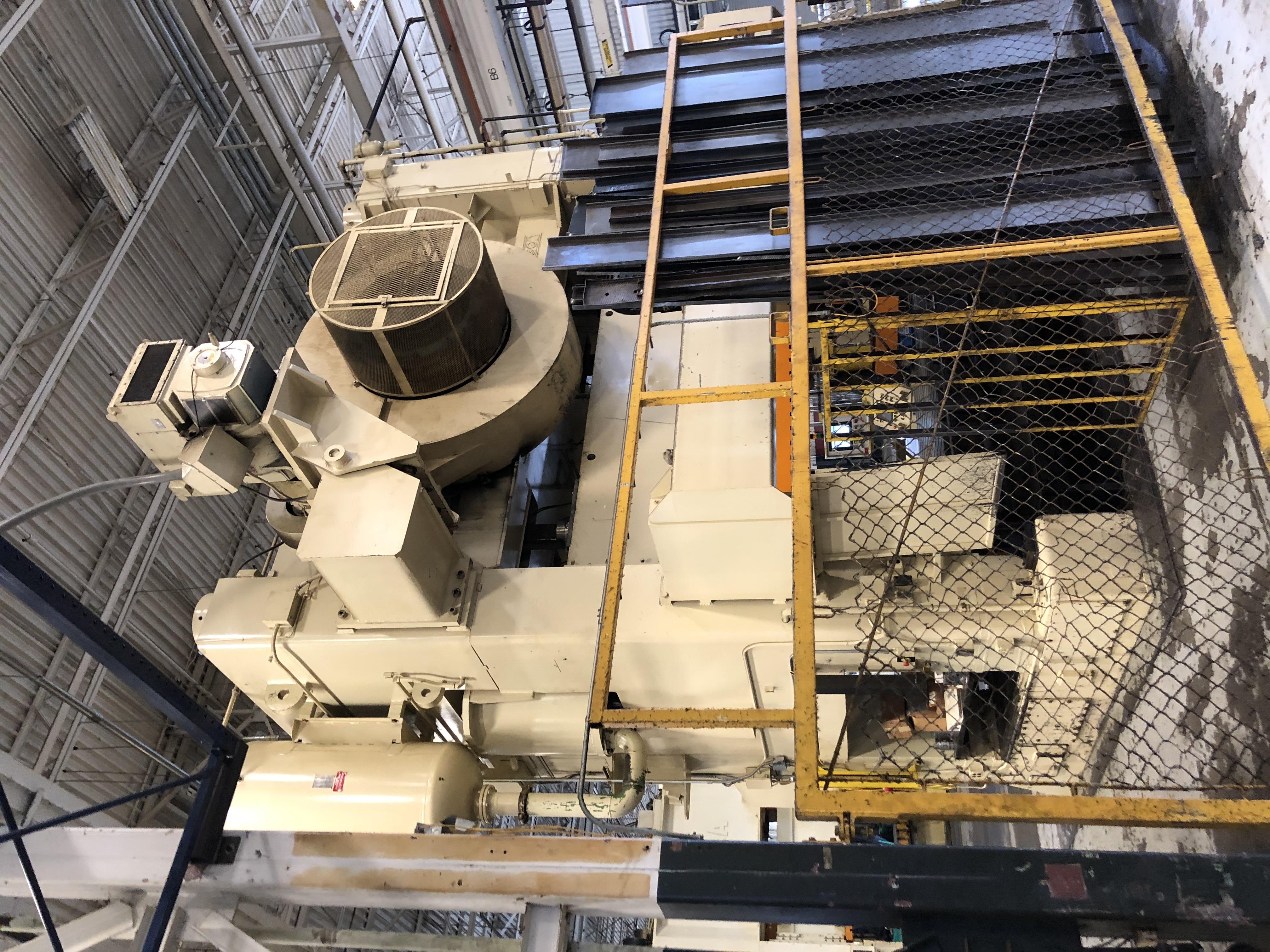 1000 ton Verson rear
