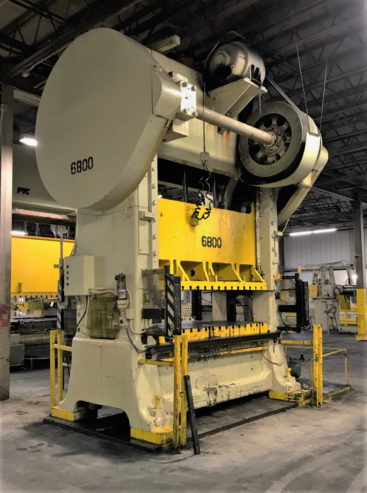 300 Ton straight side minster press