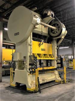 300 Ton straight side minster press