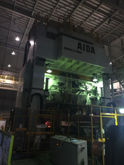 2300 ton Aida servo