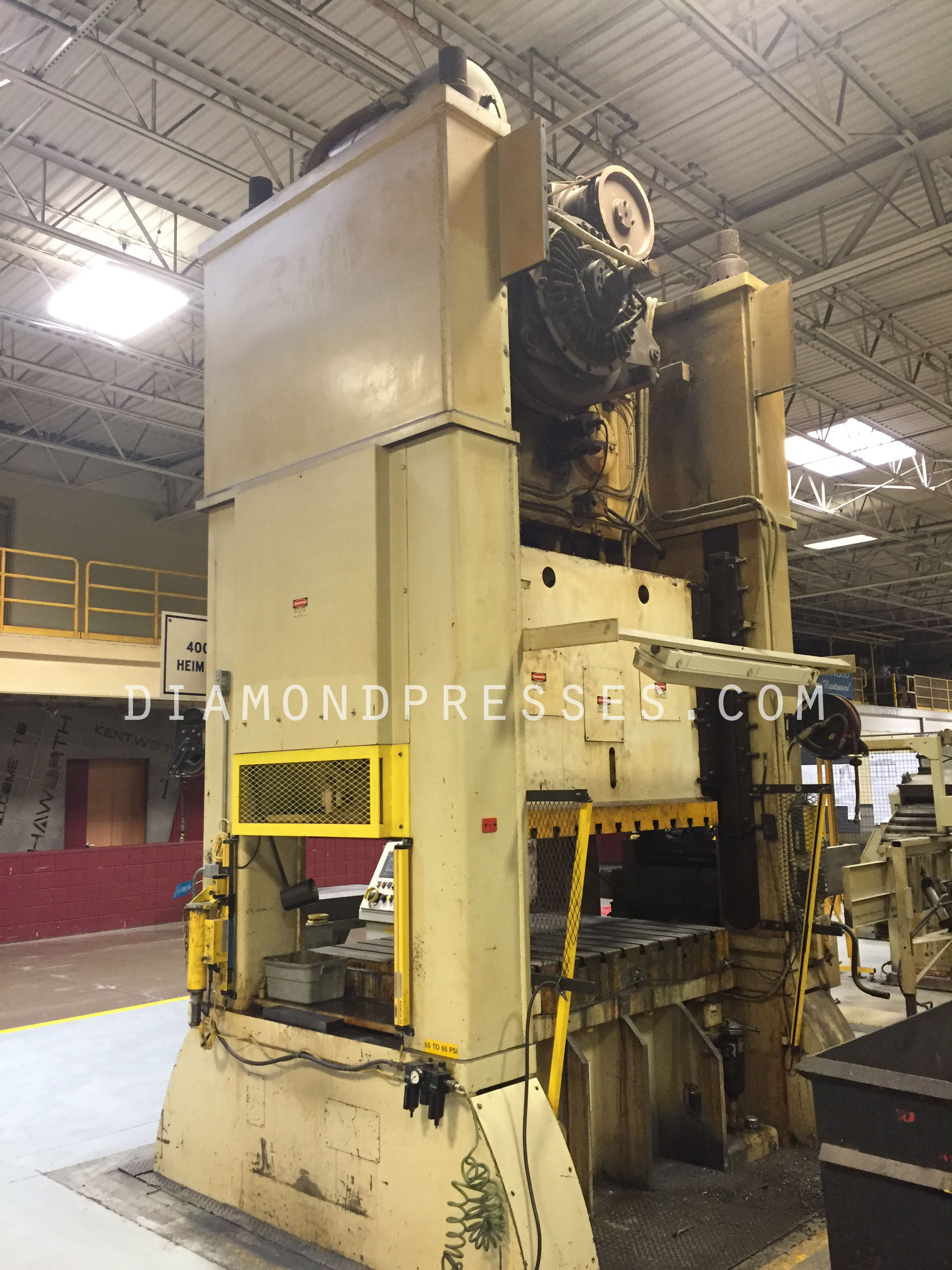 Heim 400 Ton Press For Sale Back
