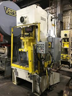 121 ton Aida gap frame press