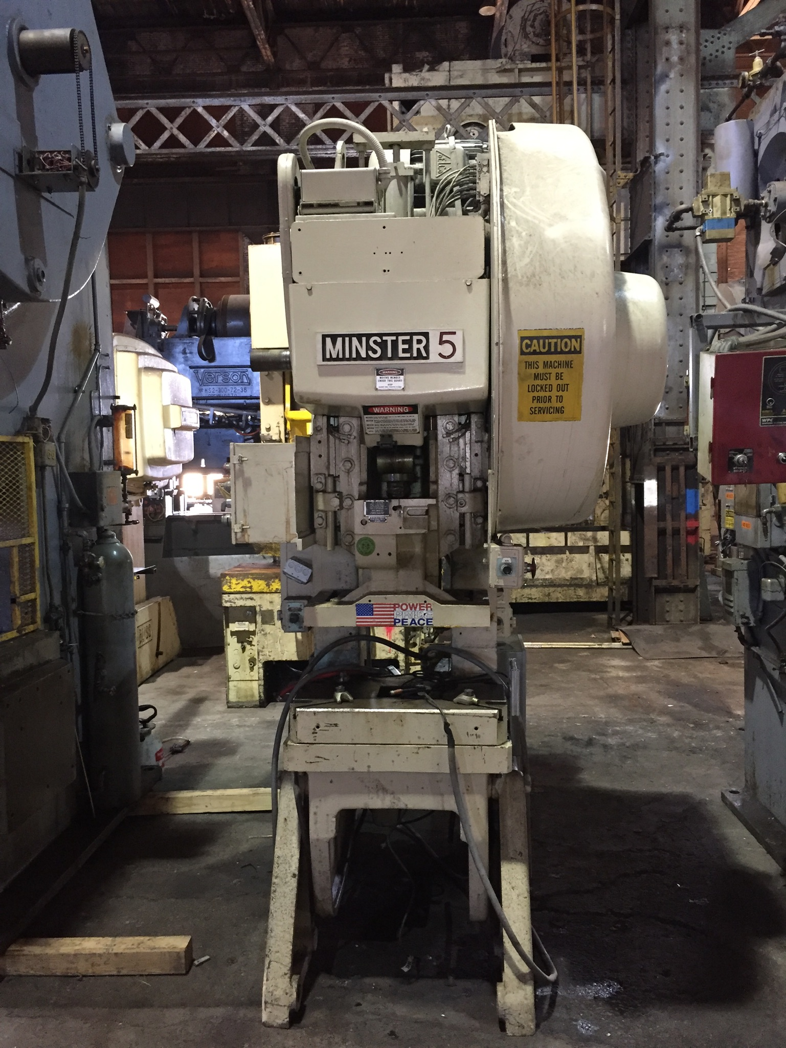 Minster 45 ton press