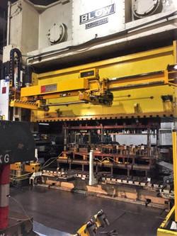 1200 ton Blow press ram