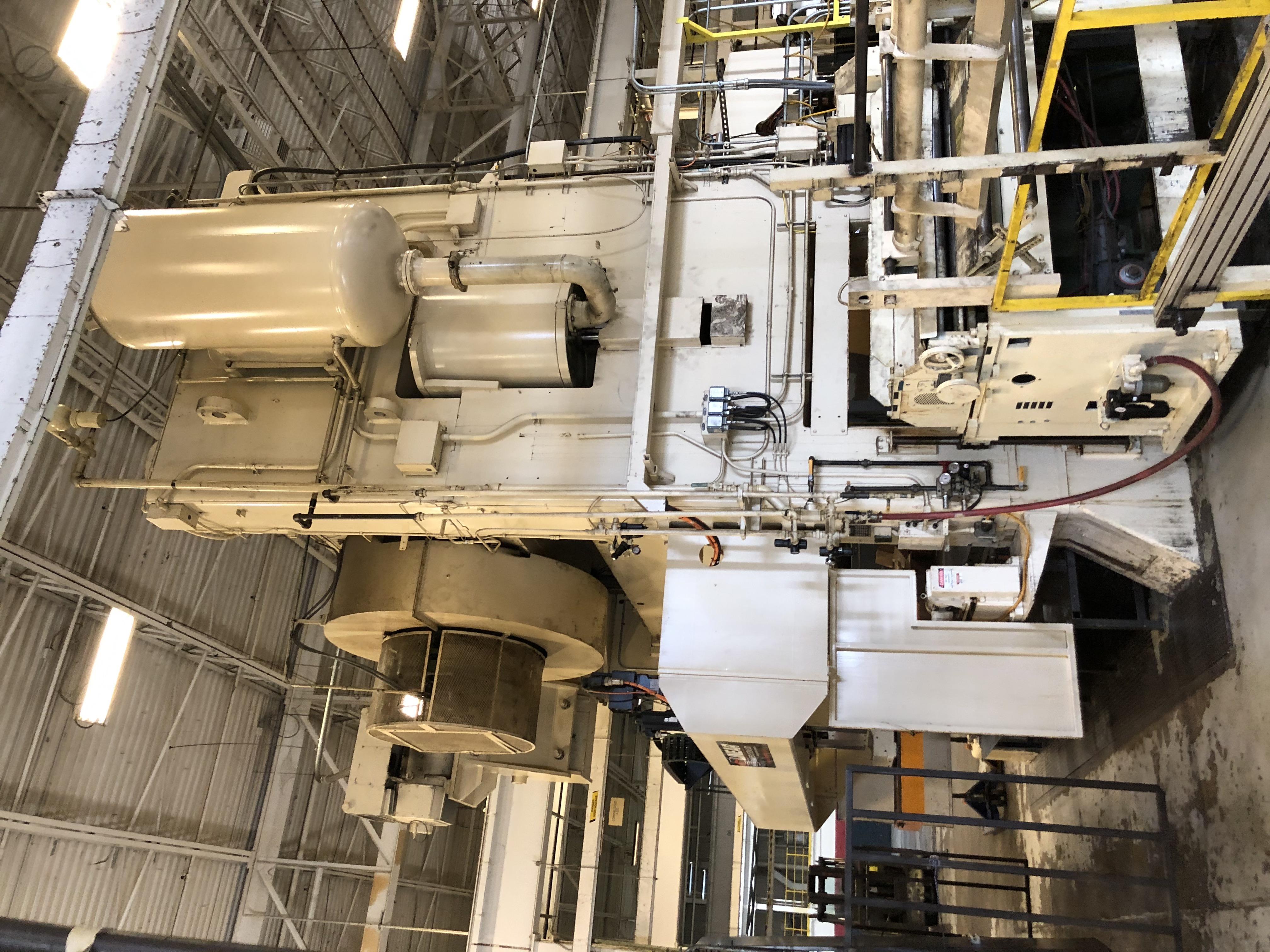 1000 ton Verson side view