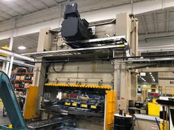 630 ton Aida servo press rear press