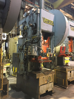 110 ton Verson Side