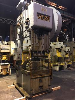 150 ton verson side