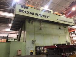 1500 ton Komatsu top