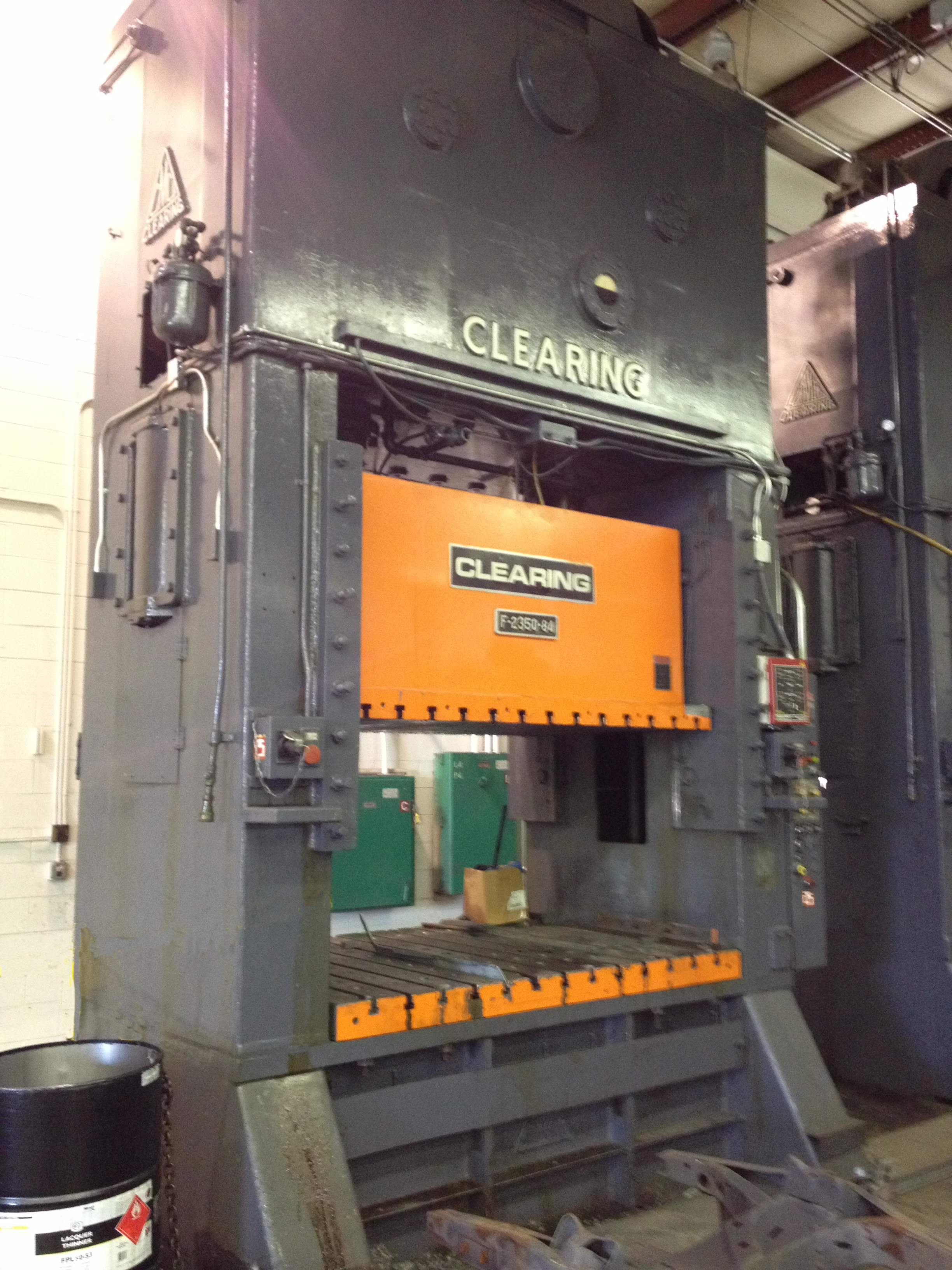 350 Ton Clearing press for sale