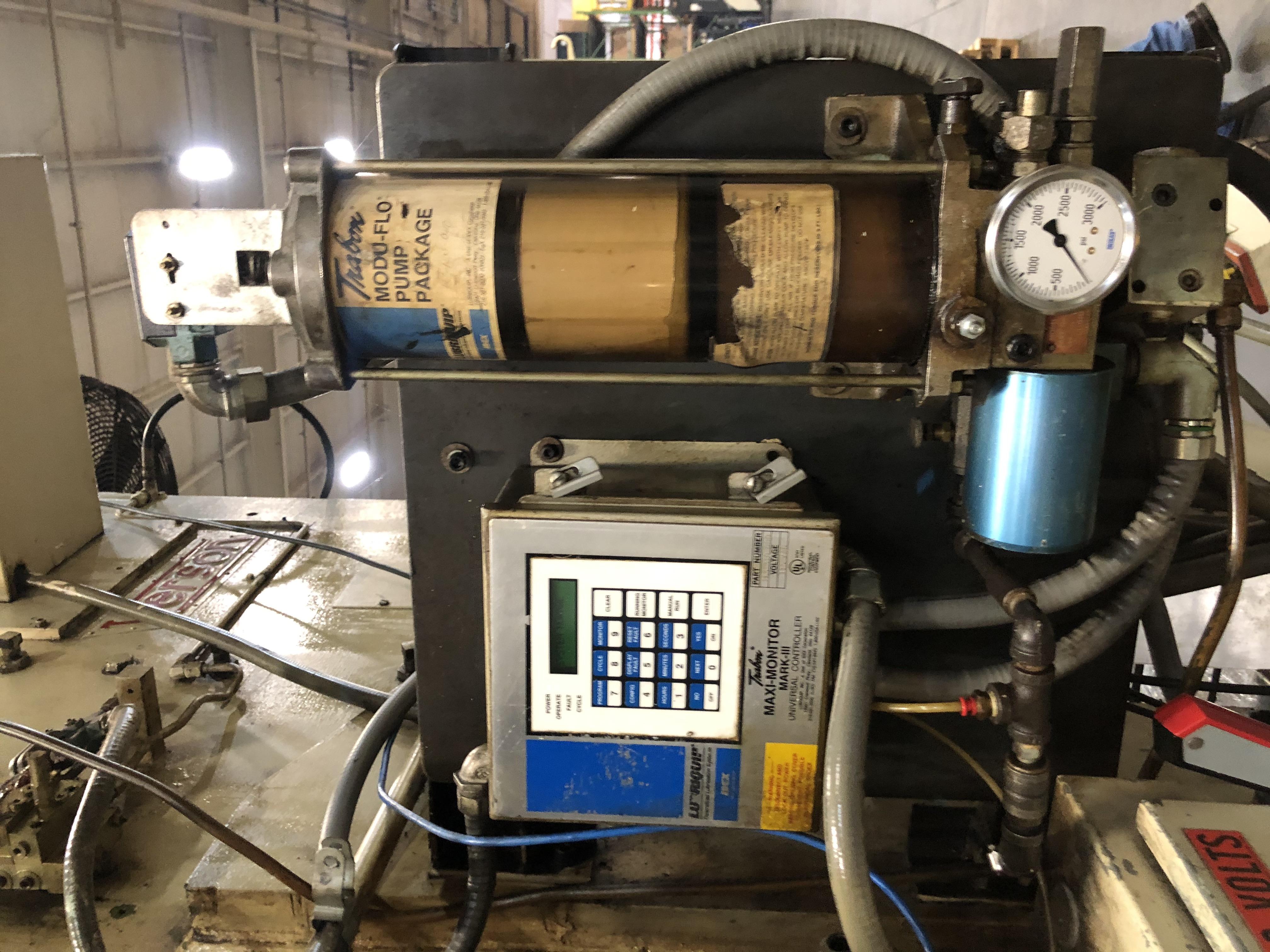 110 ton Verson grease