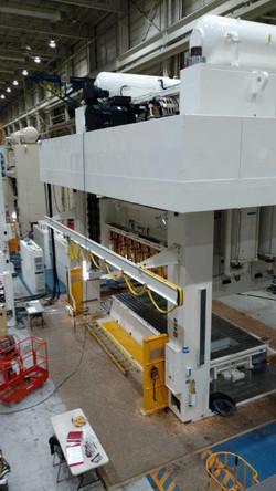 1600 ton Aida servo press 3