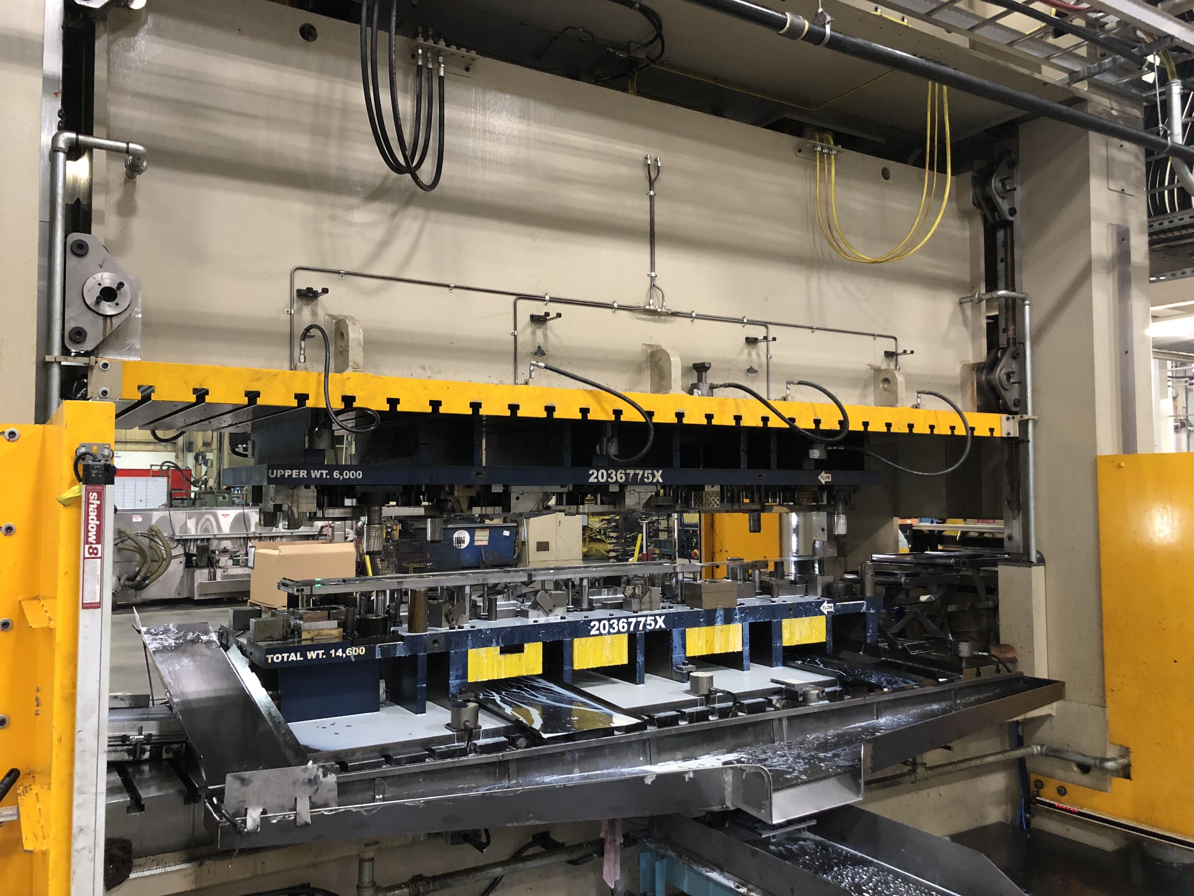 630 ton Aida servo press