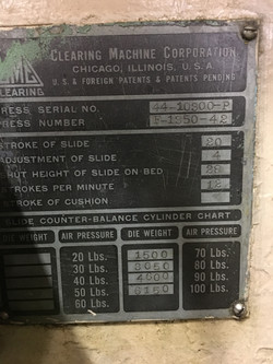 350 ton clearing data