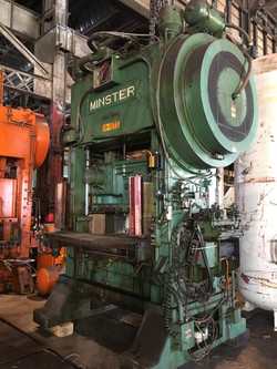 150 ton minster p2 front 2