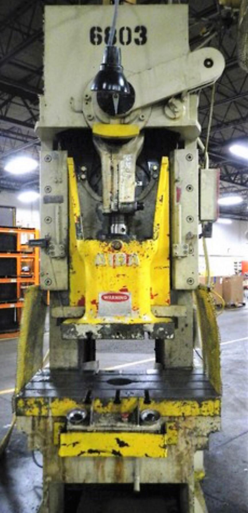 110 ton aida gap frame 3